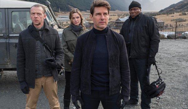 Mission: Impossible 6 Simon Pegg Rebecca Ferguson Tom Cruise Ving Rhames IMF team ready for action