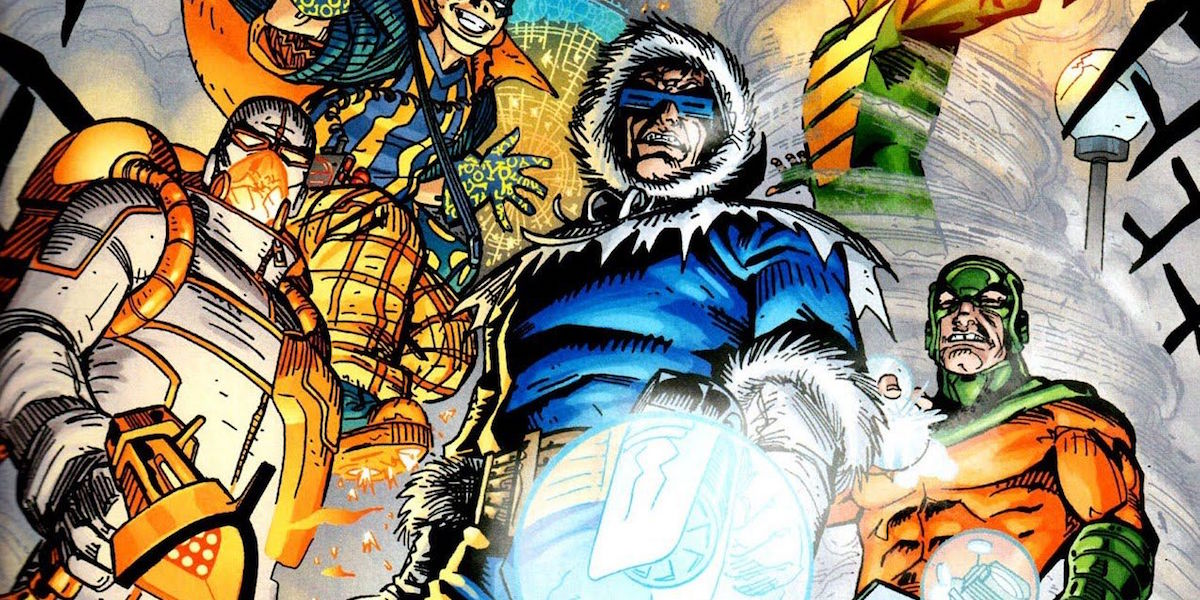 The Flash Captain Cold, Heat Wave, Mirror Master Rogues