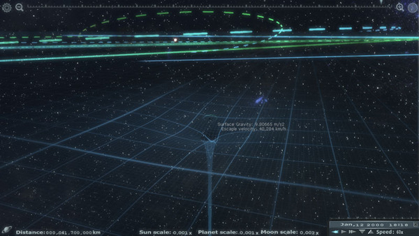 Explore The Solar System With Unreal Engine App #21708