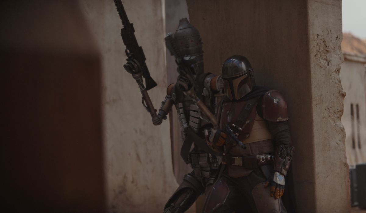 IG-11 and the Mandalorian