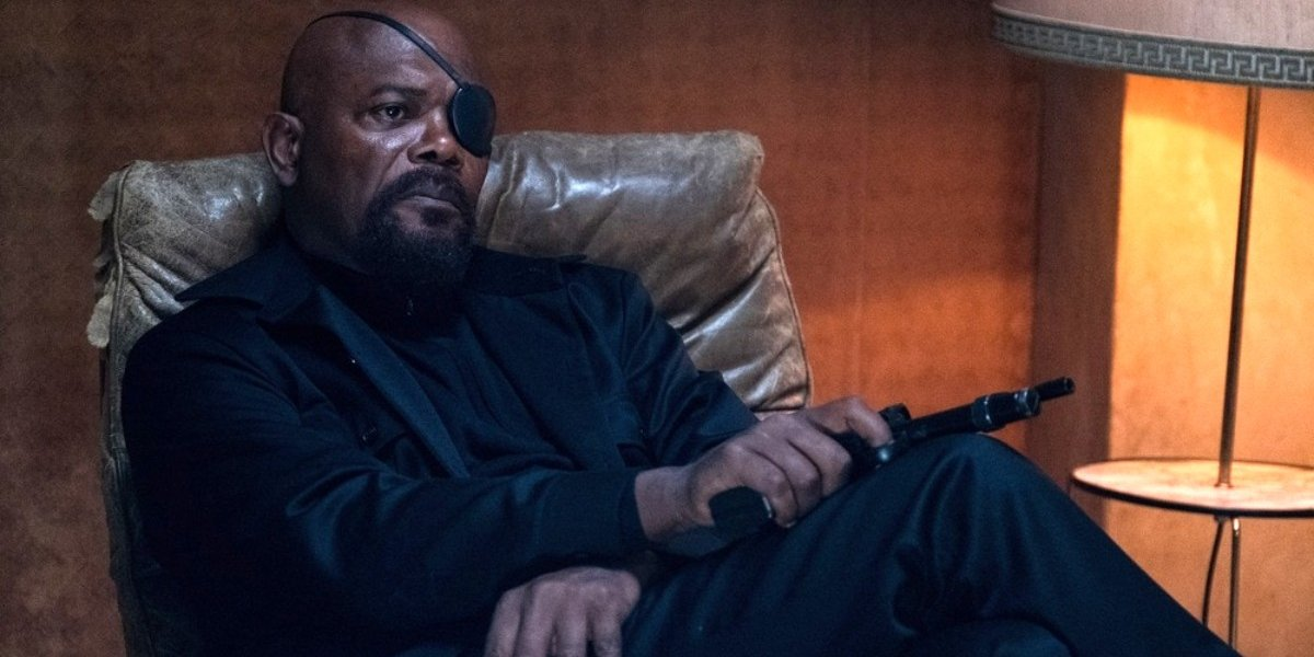 Samuel L. Jackson in Spider-Man: Far From Home