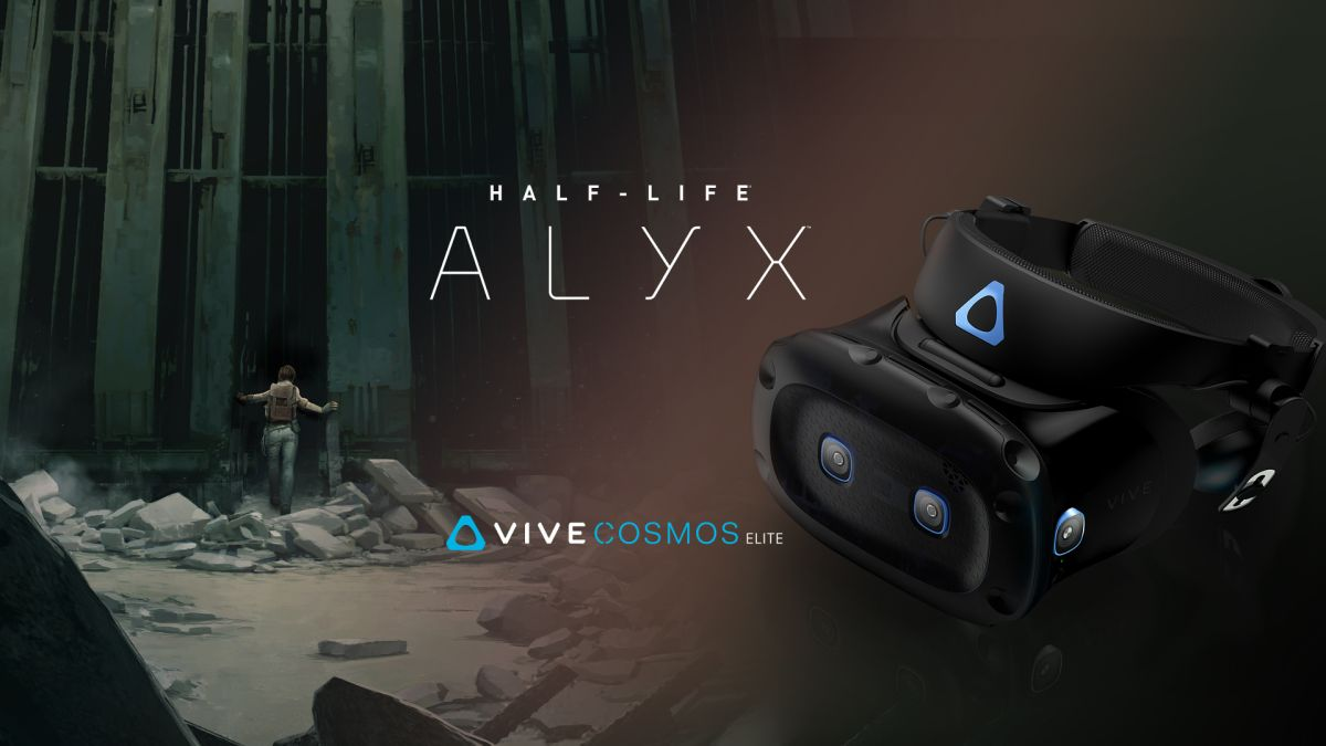 HTC Vive Cosmos Elite is out and comes with Half-Life: Alyx for free