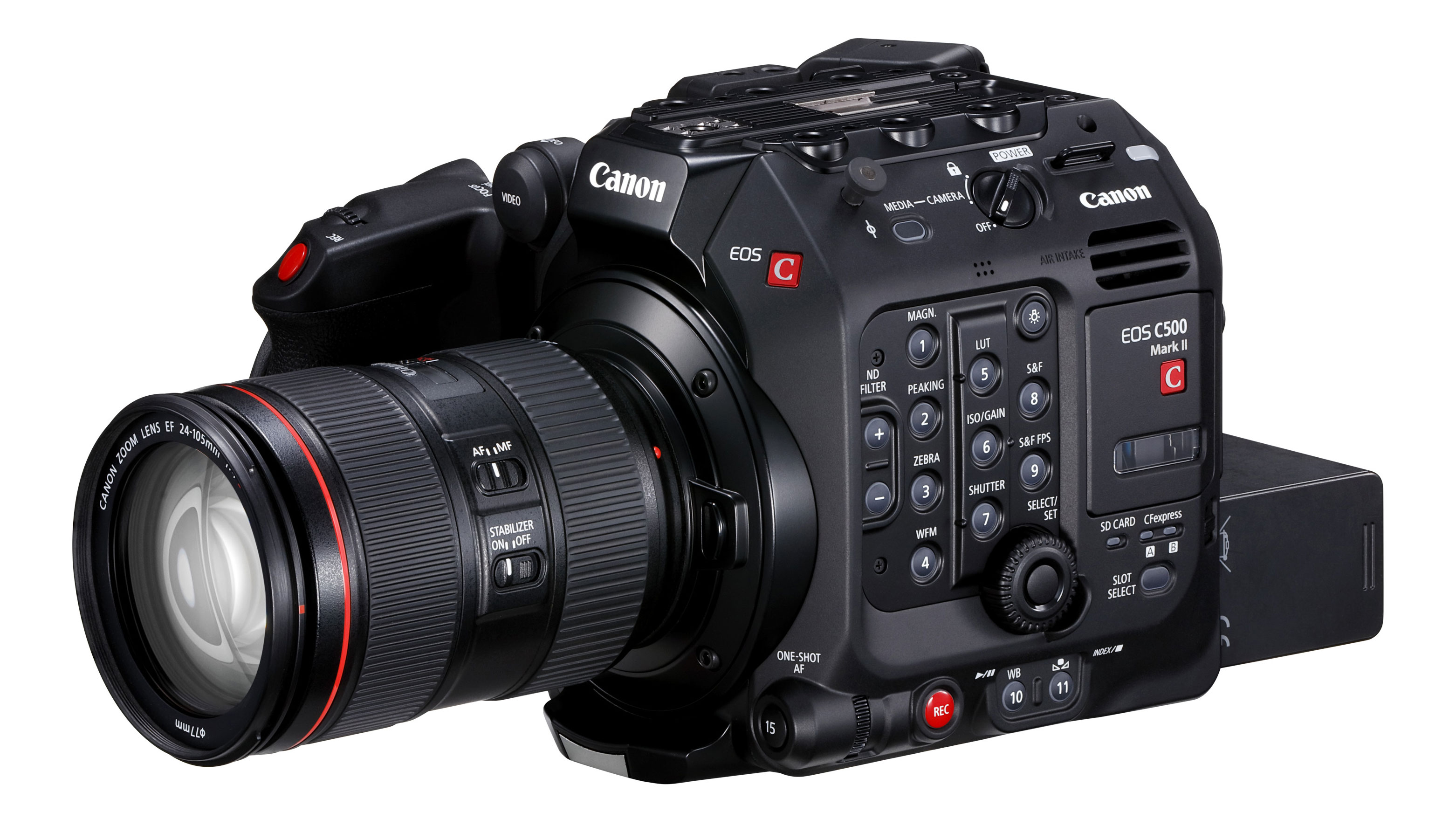 Canon EOS C500 Mark II comes with 5 9K Cinema RAW Light and