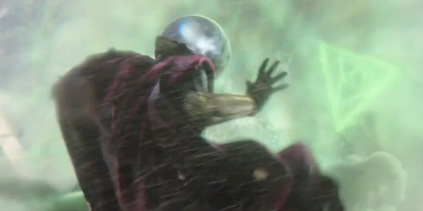 Mysterio gets his fishbowl!