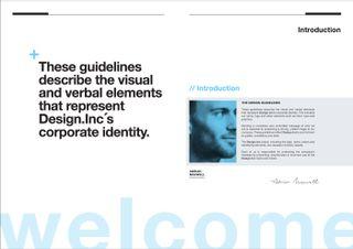 Best brochure templates Brand manual