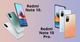Xiaomi Redmi Note 10 y Note 10 Pro