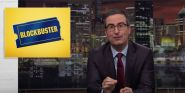 John Oliver Bought Weird Russell Crowe Memorabilia, Has A Plan For It Involving Blockbuster