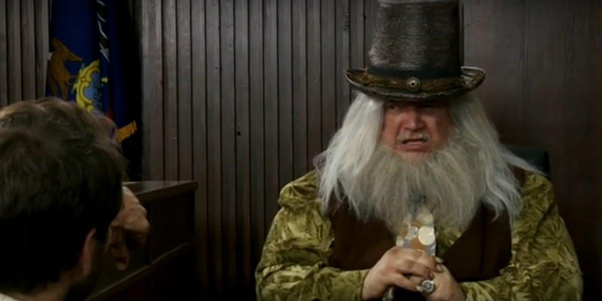 Guillermo del Toro as Poppy McPoyle in It's Always Sunny in Philadelphia