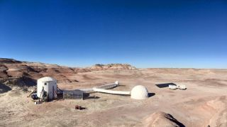 Mars Society's Mars Desert Research Station in Utah