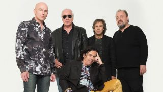 A group shot of Marillion