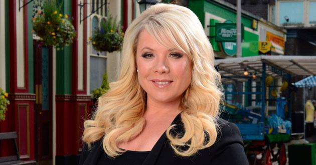 Letitia Dean stars in EastEnders