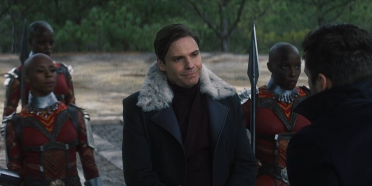 Zemo with Dora Milaje in The Falcon And The Winter Soldier