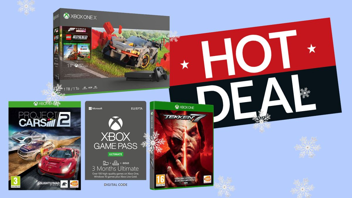 Xbox One X Christmas bundle deal: world's most powerful console, four awesome games