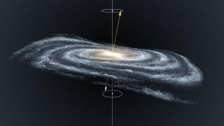 Warped Milky Way