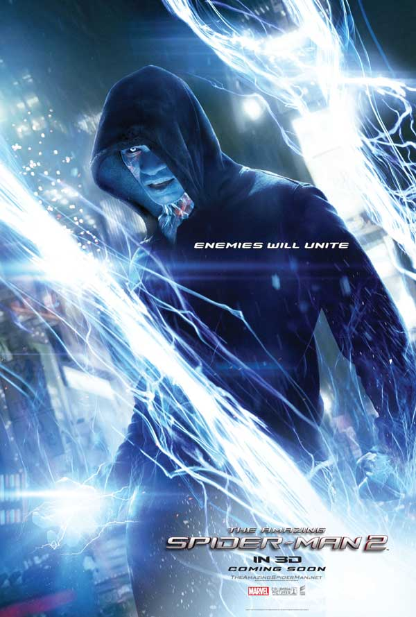 Amazing Spider-Man 2 Character Poster Electro