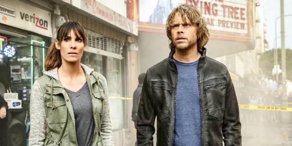 NCIS Los Angeles Kensi Daniela Ruah Deeks Eric Christian Olsen CBS