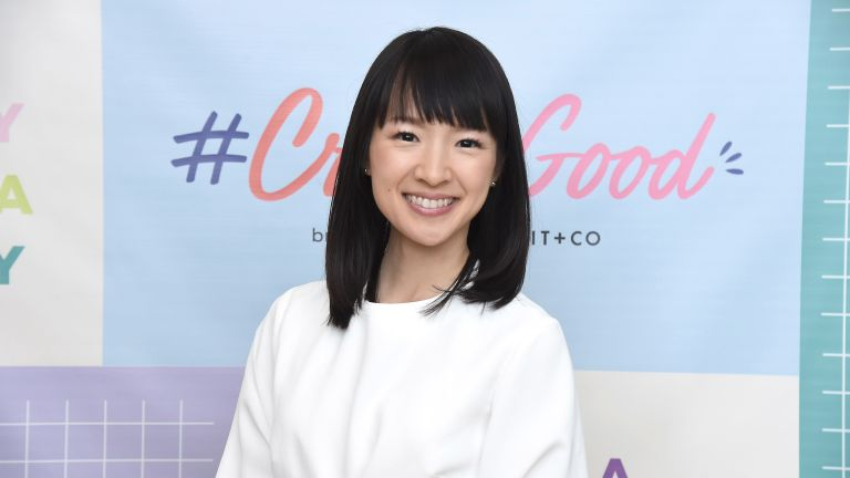 Marie Kondo stress relief techniques