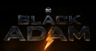 The official 'Black Adam' title card.