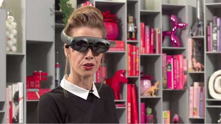 Here's how Magic Leap One AR glasses will fit on your head