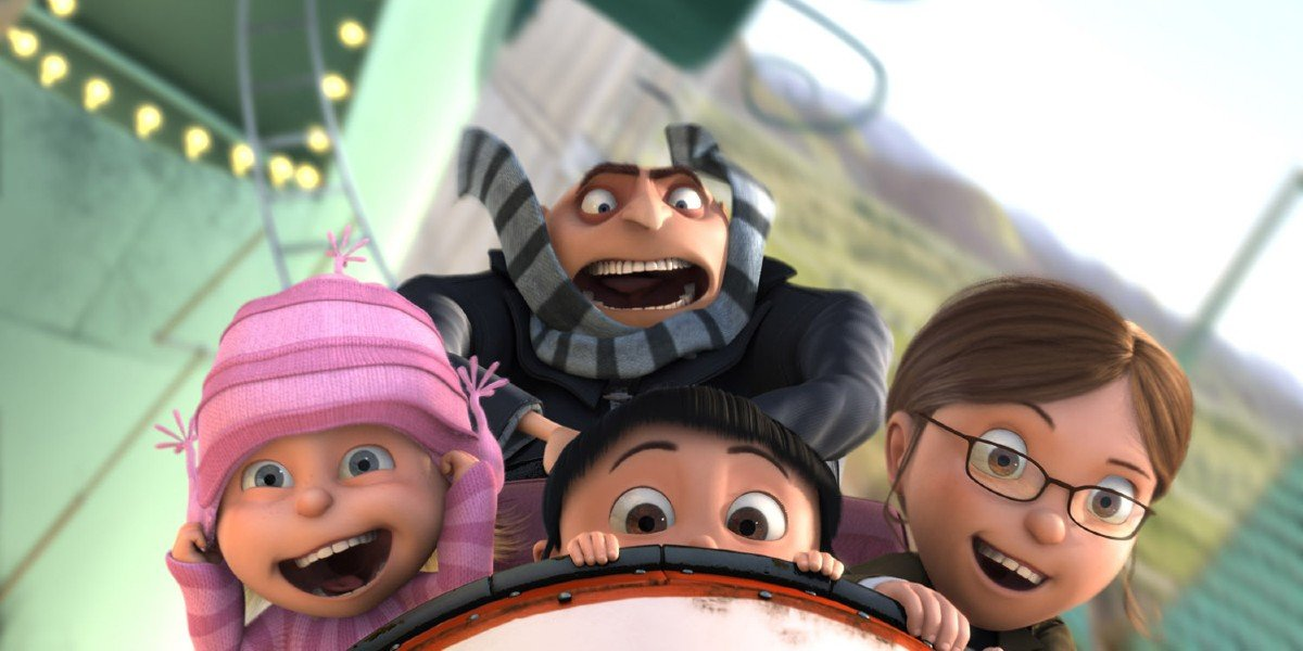 Screenshot from Despicable Me
