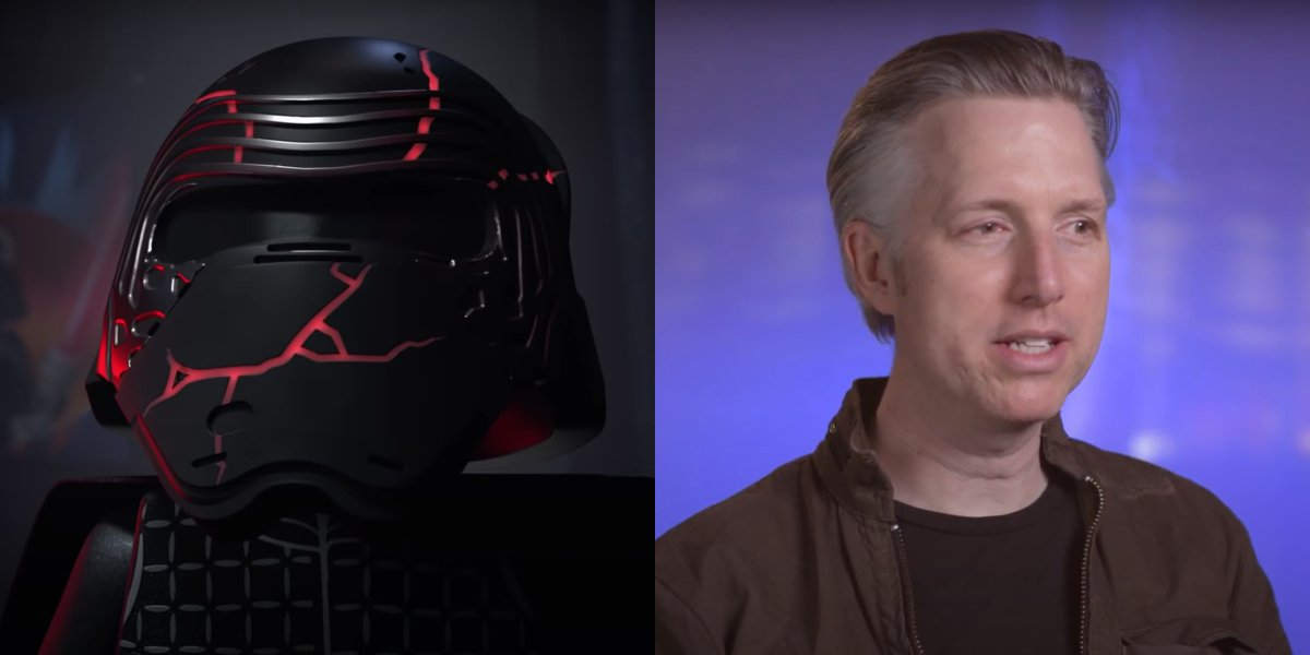 Kylo Ren in LEGO Star Wars Holiday Special; Matthew Wood on Backstage Conversations