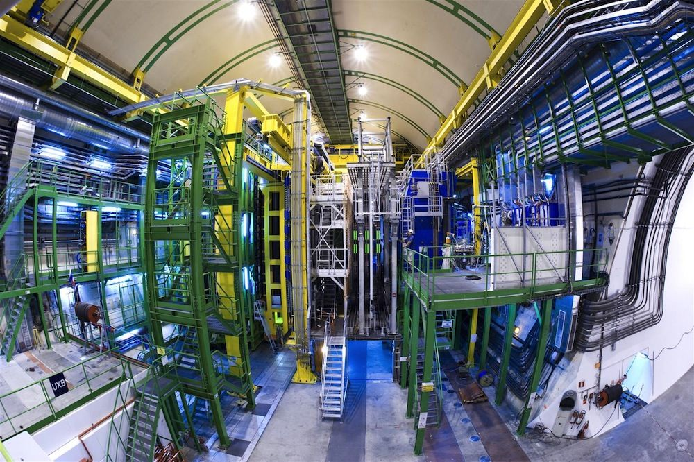World's Largest Atom Smasher May Have Just Found Evidence for Why Our Universe Exists