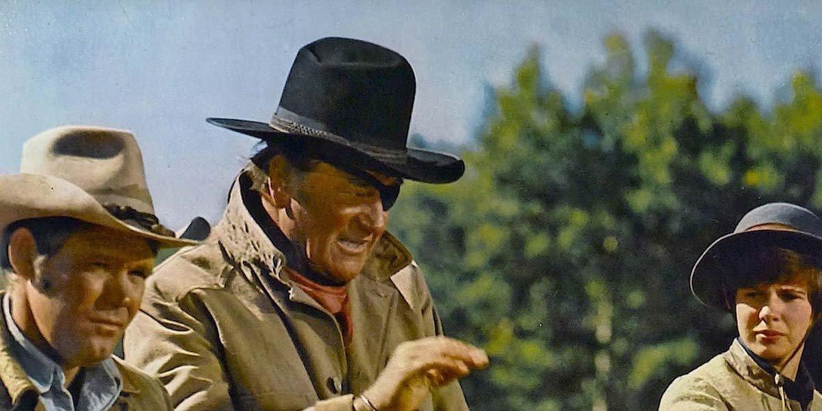 John Wayne with the eyepatch