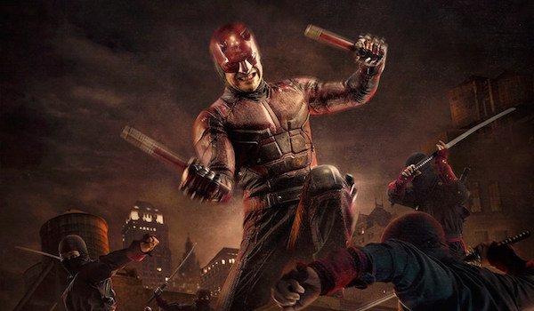 Daredevil fights ninjas