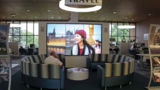 Video Install at AAA Headquarters Brings Clients Closer to Vacation