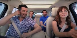 Zooey Deschanel Opens Up About What It's Been Like To Date Property Brother Boyfriend Jonathan Scott