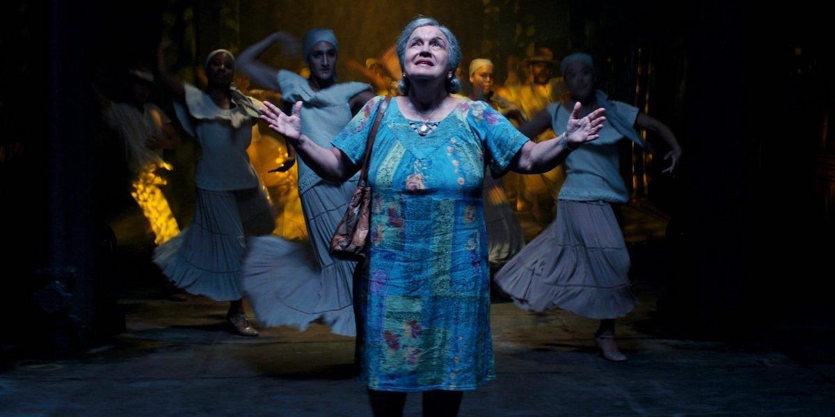 Olga Merediz as Abuela Claudia in In The Heights Movie