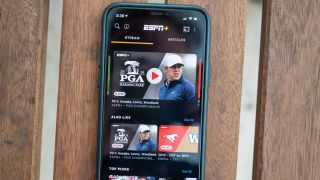 ESPN+ on iPhone