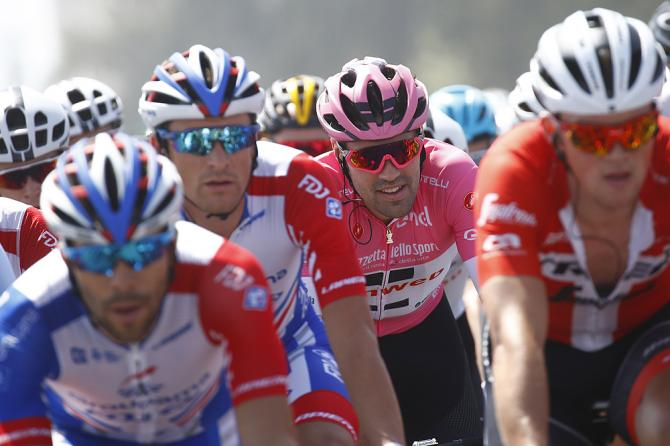 Tom Dumoulin during stage 2 Giro d'Italia 2018