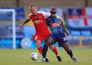 Wycombe Wanderers v Fleetwood Town – Sky Bet League One – Play-Offs – Semi Final – Second Leg – Adams Park