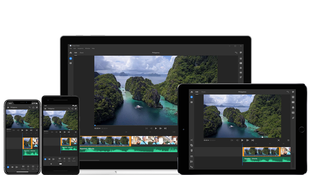 Adobe launches video app Premiere Rush CC