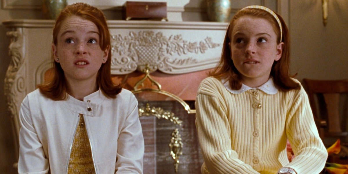 Lindsay Lohan as Annie and Hallie in The Parent Trap
