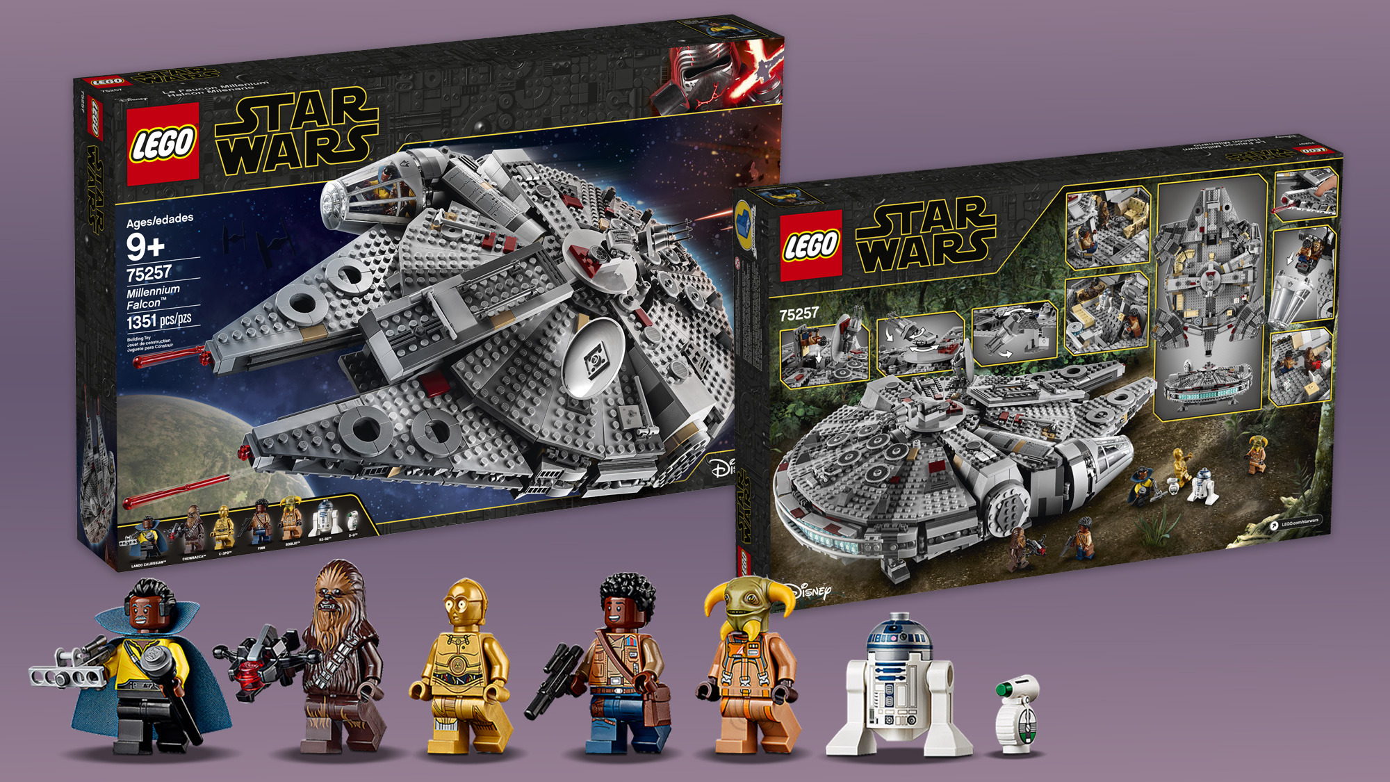 Lego Unveils New Star Wars Sets For Triple Force Friday Space