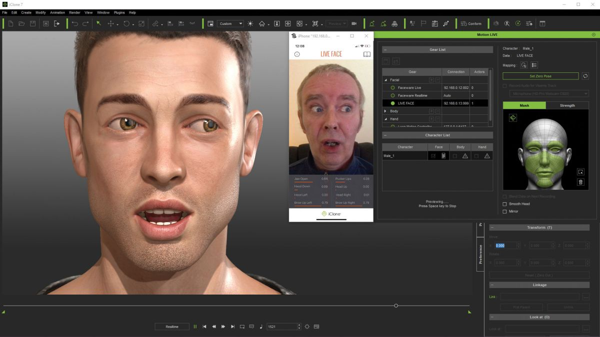 Live Face for iClone 7 review | Creative Bloq
