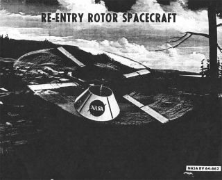 Re-Entry Rotor Spacecraft