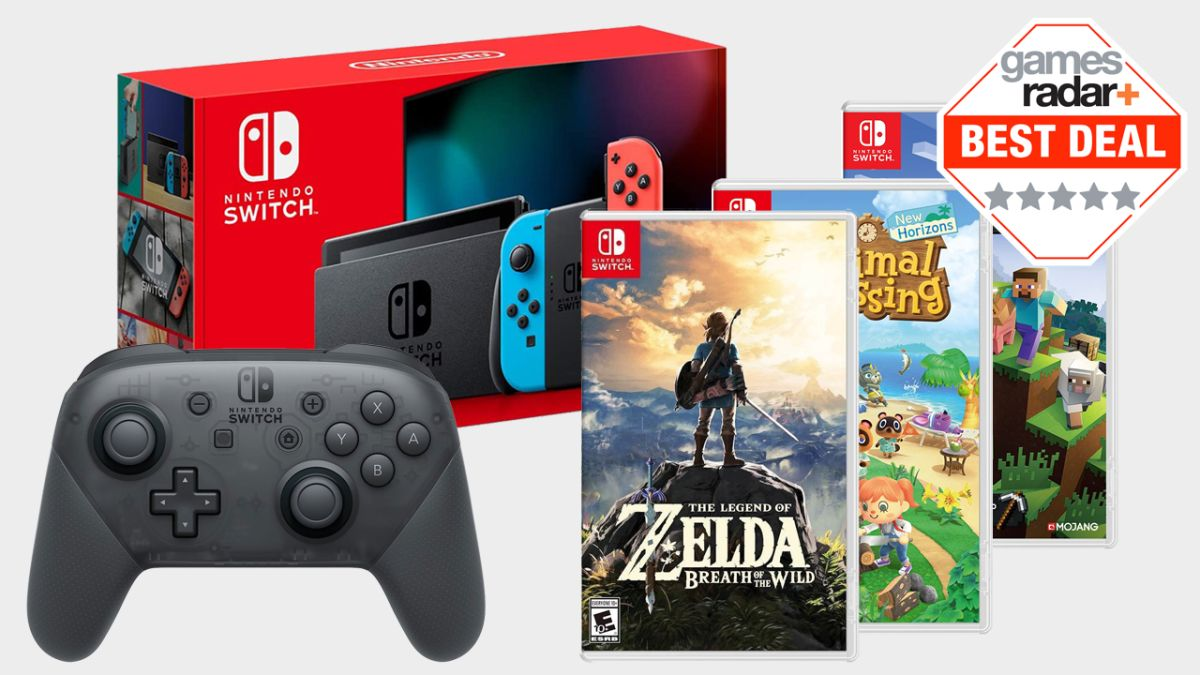 Nintendo Switch Deals Are Back In Stock Move Fast Gamesradar