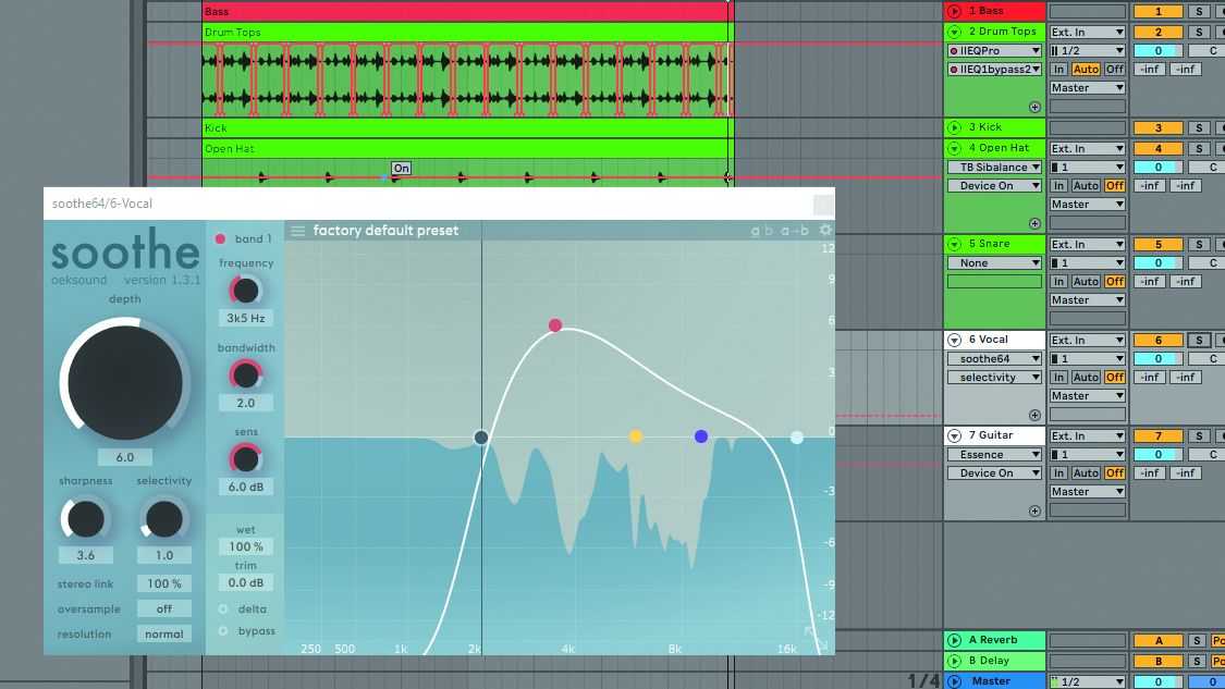 How to remove harshness from your mix using EQ and de-essing