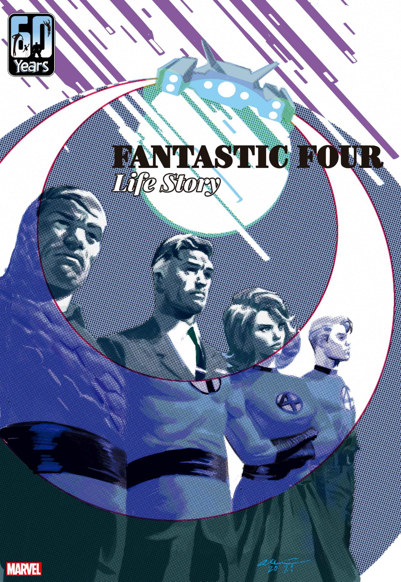 Los cuatro fantásticos: historia de vida n. ° 1