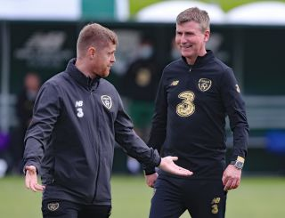 Republic of Ireland Press Conference and Training Session – FAI National Training Centre