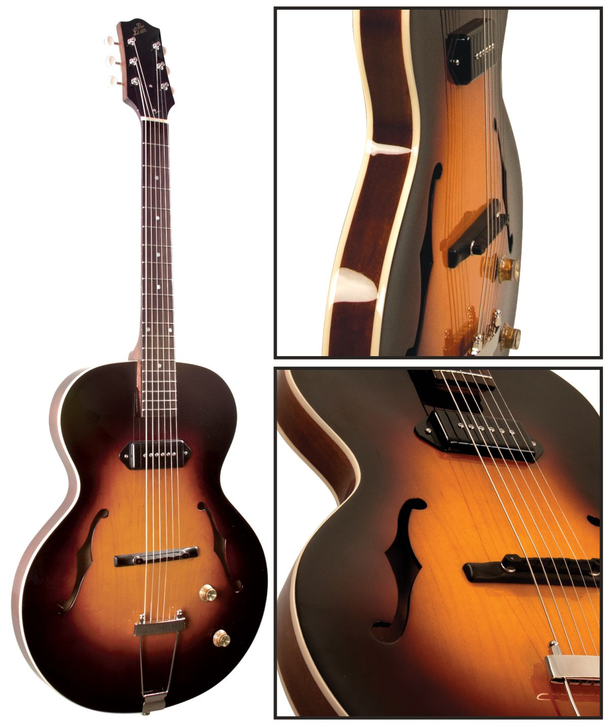 the loar introduces lh 301t archtop electric guitar guitarworld. Black Bedroom Furniture Sets. Home Design Ideas
