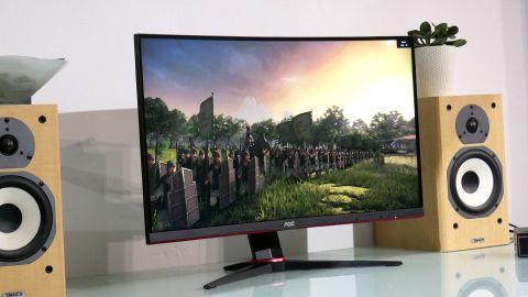 AOC C27G2 gaming monitor.