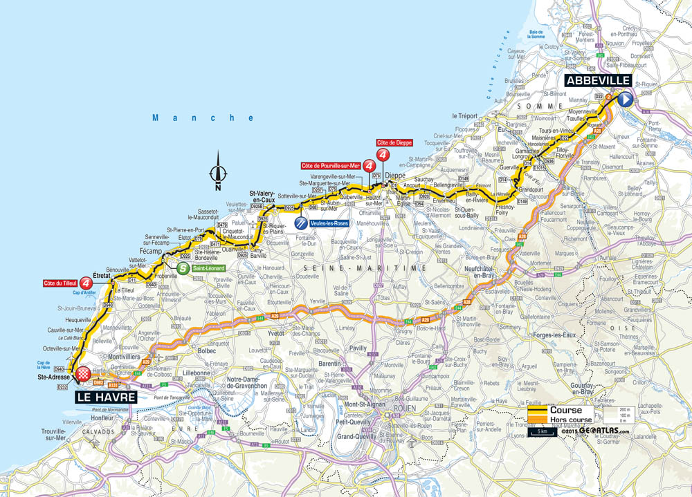 Tour de France 2015 stage 6 preview Cycling Weekly