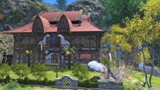 A Final Fantasy 14 house
