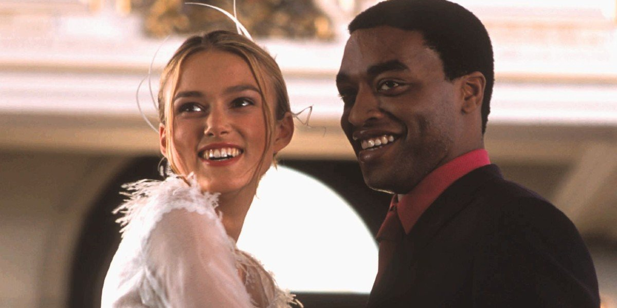 Keira Knightley and Chiwetel Ejiofor in Love Actually