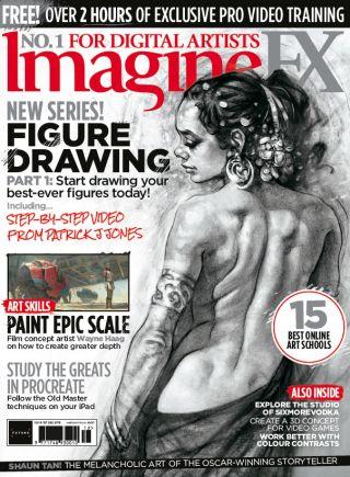 imaginefx 167 cover
