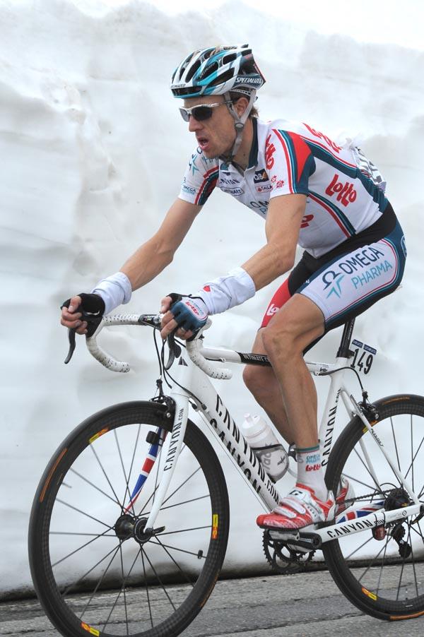 Charly Wegelius, Giro d'Italia 2010, stage 20